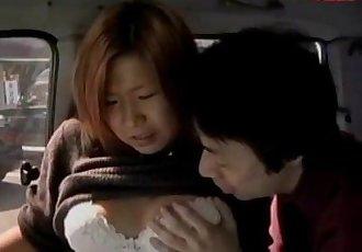Jun Takedas Public Van Fuck - 5 min