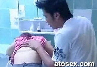 Hot Asian erotic movie scenes - 45 min