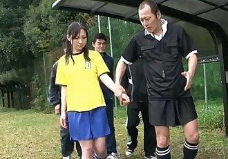 japanhdv 赤裸裸的 足球 杯 场景 拖车 - 55 sec
