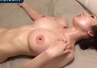 Asian julia boin rides dick - 8 min