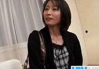 Needy milfYuki Mitsui wants a strong fuck - 12 min