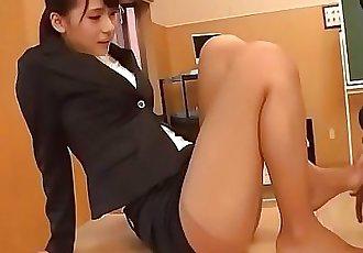 Yui Oba, teacher in heats, amazing hardcore school fuckMore at javhd.net 12 min