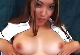 Nautica Thorn teases and opens her slutty mouth