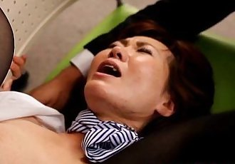 成熟 日本 毛茸茸的 陰蒂 和 屁股 玩弄 - 8 min hd