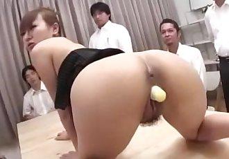 安娜 Mizukawa 抽 和 做 要 吞下去 新鲜的 每次妳站 - 10 min