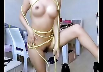 Cute Chinese Rope Play. Watch more: http://123link.vip/hNC88n 10 min 720p