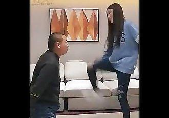 中國 薇薇 facebusting