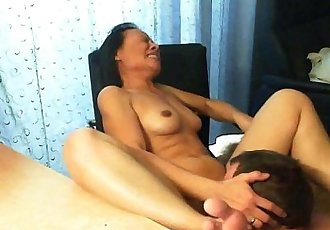 Thai mature in action - 7 min