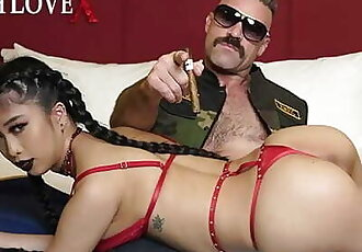 TOUGHLOVEX Casting Big Tit Asian Cum Slut Jade Kush