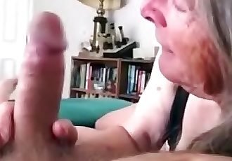 72 Year old Granny Sucks and FucksCOMPILATION 38 min