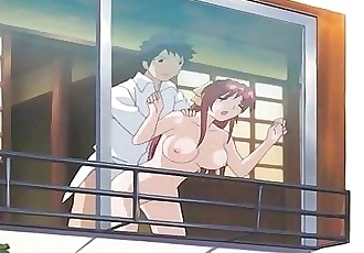 Anime Sister Gives Brother Blowjob - 2 min