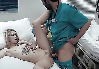 19 years old patient fucked in hospital 6 min HD