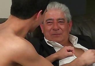 Grandpa Loves Fucking Twinks
