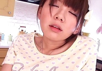 Stunning asian teen gets toyed in the extreme - 8 min HD