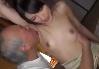 Graceful Teen Banged By Ugly Disgusting Old Grandpa