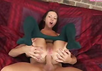 Young Teen Deepthroat Assfuck in her first Porn Scene