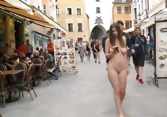 Stella nude in public 1