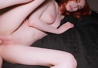 Fucking Young Slutty Teen with Big Butt, Facial & Swallows Cum!