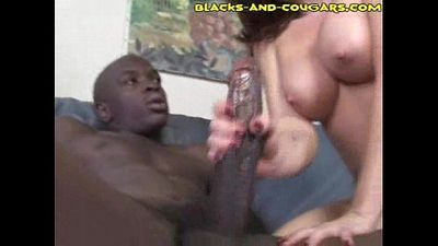 Interracial Granny Fucking - 3 min