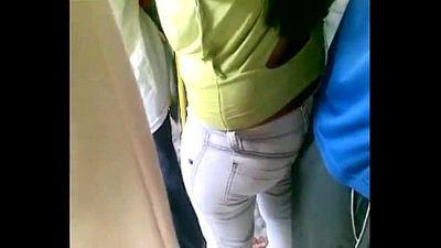 Gropers 00 bus Jeans - 2 min