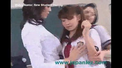 A New Student Gets Hazed By Teacher and Other Student - 4 min