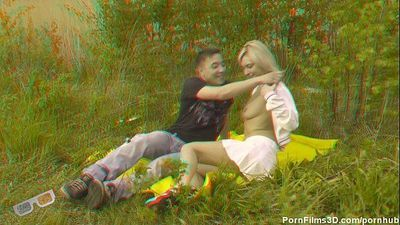 Couple in a meadow - 6 min HD