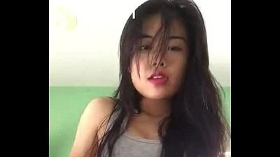 young thai girl panty rubbing - 2 min