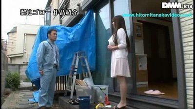 Hitomi Tanaka Young Horny wife - 1 min 15 sec