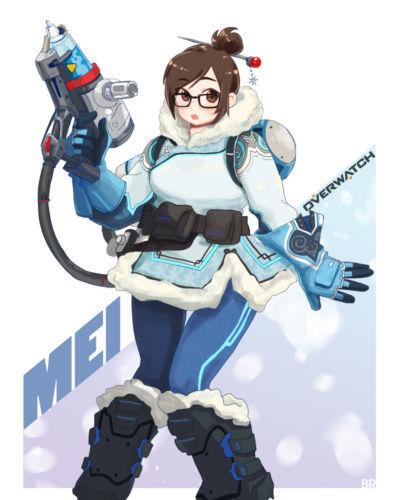 Overwatch - Mei-Ling Zhou - part 7