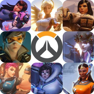 Overwatch Girls