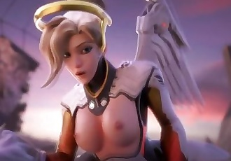 Handclap - An Overwatch HMV ft. Mercy