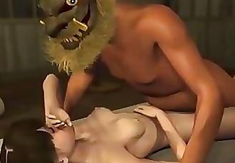 3d hentai submissive slut