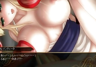 Unholy Disaster Full CG and Illust. Gallery