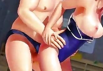 3D Swimsuit Girl