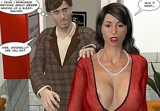 3D Comic: Sleepwalker - 9 min