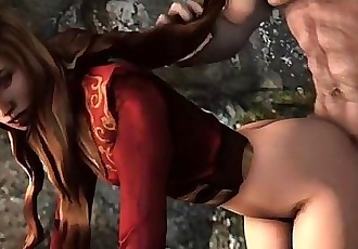 Fuck Cercei Lannister - 3D POV - 3 min