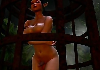 The elf sex slave Teaser shemale hentai 3d animation