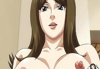 Lucky ugly guy fucks stunning busty babe - Hentai.xxx