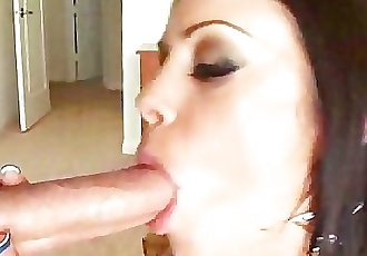 Huge Tit Hoe POV Blowjob