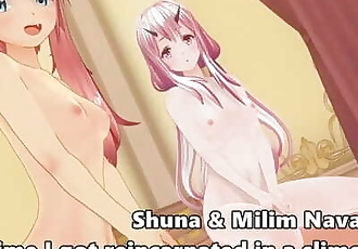 Shuna & Milim Nava that Time I got Reincarnated in a Slime CM3D2 Hentai POV