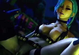 SFM League of Legends - Jinx Loop 2