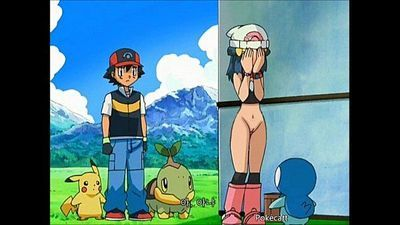 Pokemon - Ash and Dawn having sex - 7 min