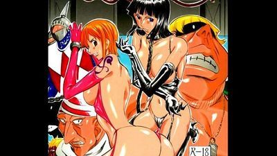 Piece of Girls 2 - One Piece Extreme Erotic Manga Slideshow - 3 min
