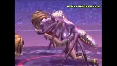 3D Monster Sex part5 - 59 sec