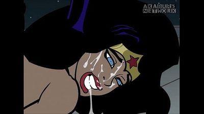 Batman fucks Wonder Woman - 1 min 0 sec