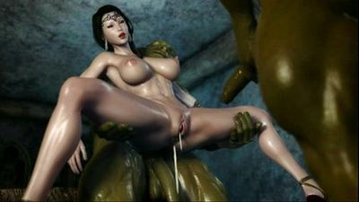 hentai 3d princess gets fucked by ogres - 9 min