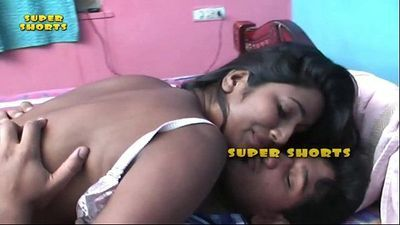 bgrade indian babe Swathi gets her boobs pressed. - 11 min