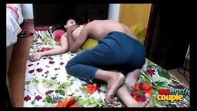 Desi hot couple Suhagraat Fuck - 15 min