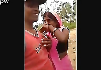 Desi boy fuck badly his own chachi in farm // Watch Full 21 min Video At..