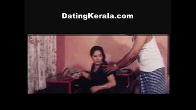 Mallu Teen Girl and Old Man Masala Video Clips - 1 min 7 sec